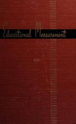 Cover of: Educational measurement. -- | Everet Franklin Lindquist