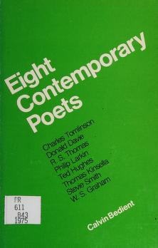Cover of: Eight Contemporary Poets | Calvin Bedient