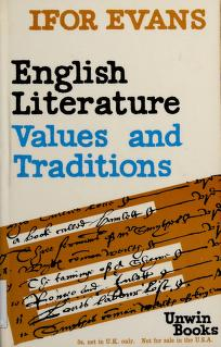 Cover of: English literature | B. Ifor Evans