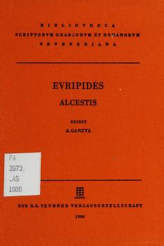 Cover of: Euripides Alcestic | Euripides