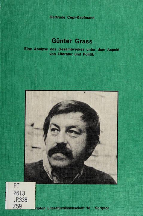 Günter Grass by Gertrude Cepl-Kaufmann