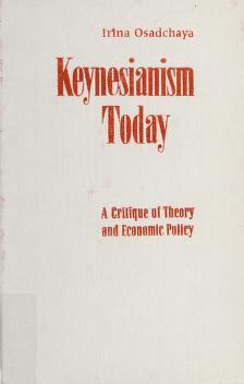 Cover of: Keynesianism today | Irina Mikhaĭlovna Osadchai͡a